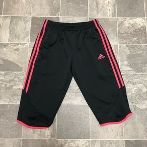 Women's adidas 1/2 length soccer workout sweats